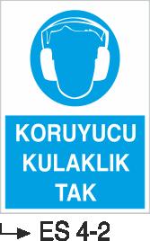 Kulak Koruma Levhaları - Koruyucu Kulaklık Tak  Es 4-2