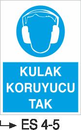 Kulak Koruma Levhaları - Kulak Koruyucu Tak Es 4-5