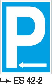 Park Levhaları - Park Yeri Es 42-2
