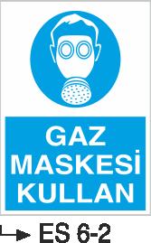 Solunum ve Maske Levhaları - Gaz Maskesi Kullan Es 6-2