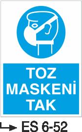 Solunum ve Maske Levhaları - Toz Maskeni Tak Es 6-52