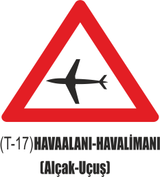 Trafik Tabelaları - Havaalanı-Havalimanı ( Alçak Uçuş) Tabelası T-17