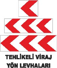 Trafik Tabelaları - Tehlikeli Viraj Yön Tabelası