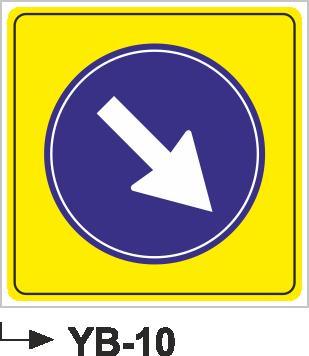 Yol Bakım ve Onarım Levhaları - YB-10 YB-10