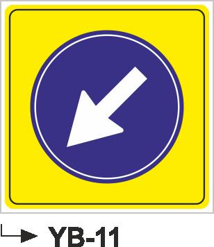 Yol Bakım ve Onarım Levhaları - YB-11 YB-11