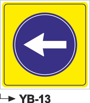 Yol Bakım ve Onarım Levhaları - YB-13 YB-13