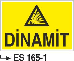 Patlayıcı Madde Levhaları - Dinamit Es 165-1