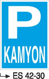 Park Levhaları - Kamyon Es 42-30