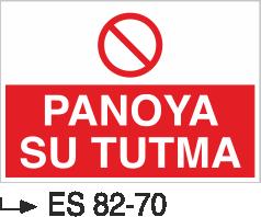 Elektrik Pano Levhaları - Panoya Su Dökme Es 82-70