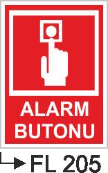 Acil Çıkış Yönlendirme Levhaları - Alarm Butonu Fl 505