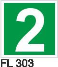 Acil Çıkış Yönlendirme Levhaları - FL 303 FL 303