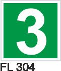 Acil Çıkış Yönlendirme Levhaları - FL 304 FL 304