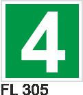 Acil Çıkış Yönlendirme Levhaları - FL 305 FL 305