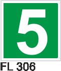Acil Çıkış Yönlendirme Levhaları - FL 306 FL 306