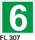 Acil Çıkış Yönlendirme Levhaları - FL 307 FL 307
