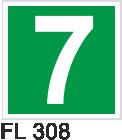 Acil Çıkış Yönlendirme Levhaları - FL 308 FL 308
