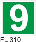 Acil Çıkış Yönlendirme Levhaları - FL 310 FL 310