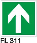 Acil Çıkış Yönlendirme Levhaları - FL 311 FL 311