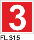 Acil Çıkış Yönlendirme Levhaları - FL 315 FL 315