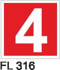 Acil Çıkış Yönlendirme Levhaları - FL 316 FL 316