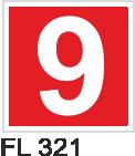 Acil Çıkış Yönlendirme Levhaları - FL 321 FL 321