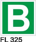 Acil Çıkış Yönlendirme Levhaları - FL 325 FL 325