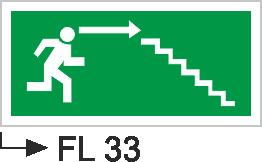 Acil Çıkış Yönlendirme Levhaları - Fl 33 Fl 33
