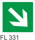 Acil Çıkış Yönlendirme Levhaları - FL 331 FL 331
