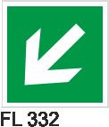 Acil Çıkış Yönlendirme Levhaları - FL 332 FL 332