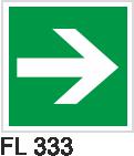 Acil Çıkış Yönlendirme Levhaları - FL 333 FL 333