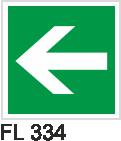 Acil Çıkış Yönlendirme Levhaları - FL 334 FL 334