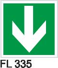 Acil Çıkış Yönlendirme Levhaları - FL 335 FL 335