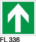 Acil Çıkış Yönlendirme Levhaları - FL 336 FL 336