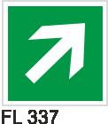 Acil Çıkış Yönlendirme Levhaları - FL 337 FL 337