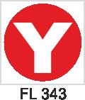 Acil Çıkış Yönlendirme Levhaları - FL 343 FL 343
