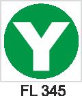 Acil Çıkış Yönlendirme Levhaları - FL 345 FL 345