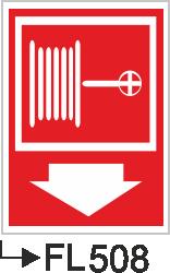 Acil Çıkış Yönlendirme Levhaları - Fl 508 Fl 508