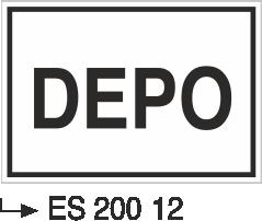 Kısımlar Levhası - Depo Es 200-12