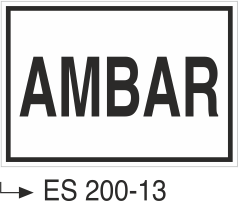 Kısımlar Levhası - Ambar Es 200-13