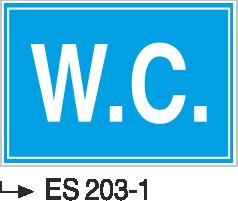 Kısımlar Levhası - W.C. Es 203-1