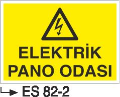 Elektrik Pano Levhaları - Elektrik Pano Odası Es 82-2