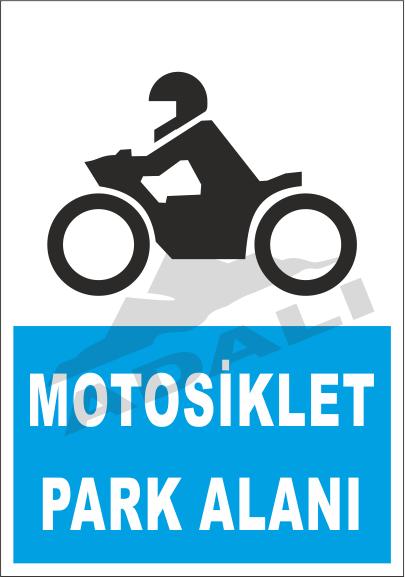 Park Levhaları - Motosiklet Park Alanı ES 42-17
