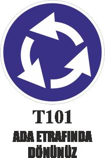 Trafik Tabelaları - Ada Etrafında Dönünüz T101