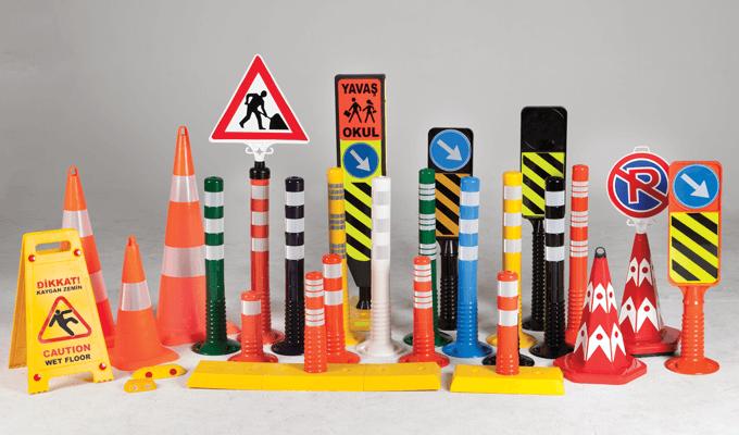 Trafik ve Otopark Ekipmanları - Trafik Güvenlik Malzemeleri Trf001